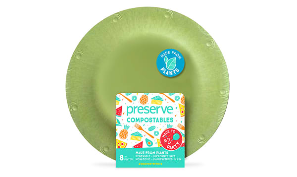 Compostable Small Plates - Green