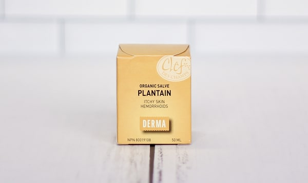 Organic Plantain Salve