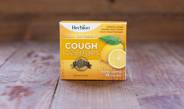 Honey Lemon Cough Lozenges 18pc