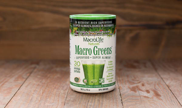 Organic Macro Greens - 30 day