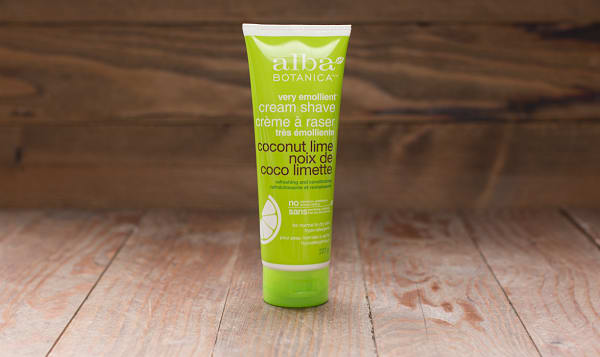 Coconut Lime Shave Cream