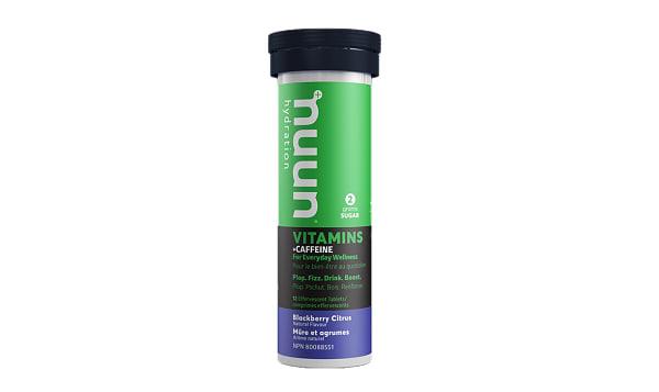 Vitamins + Caffeine - Blackberry Citrus Tablets