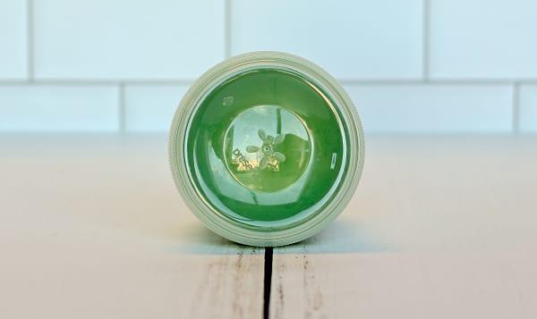 Mini Round Container - Green Apple