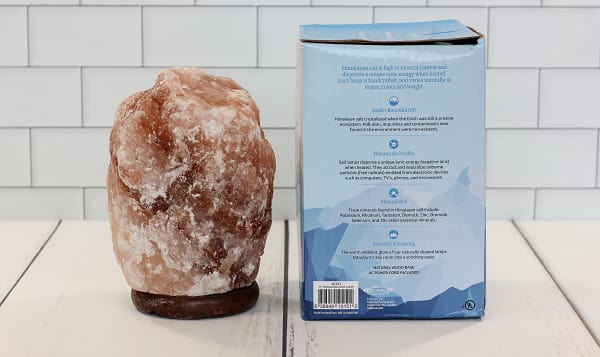 Himalayan Rock Salt Lamp Amber