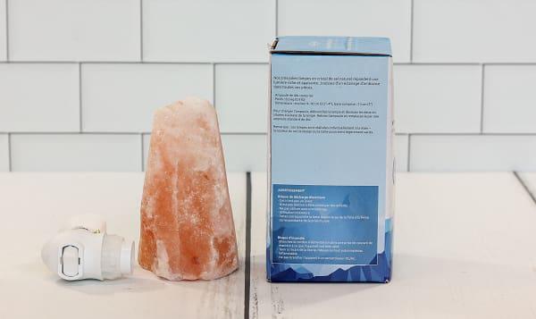 Himalayan Salt Amber Night Light