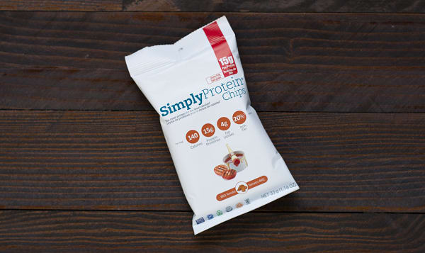 Simply Protein Chips - BBQ