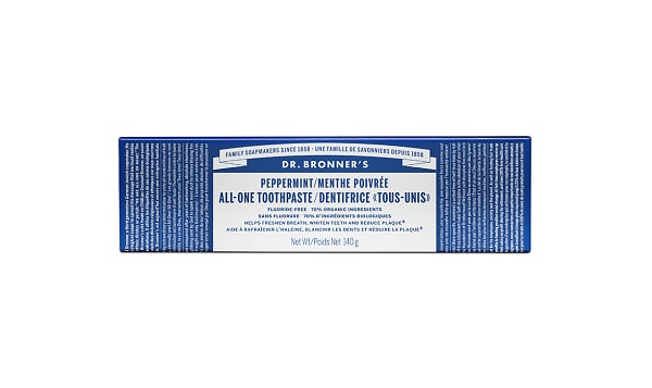 Organic All-One Toothpaste - Peppermint