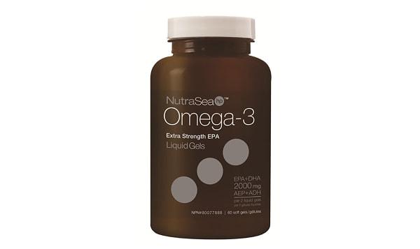 Omega-3 HP Liquid Gels, Extra Strength EPA-  Fresh Mint
