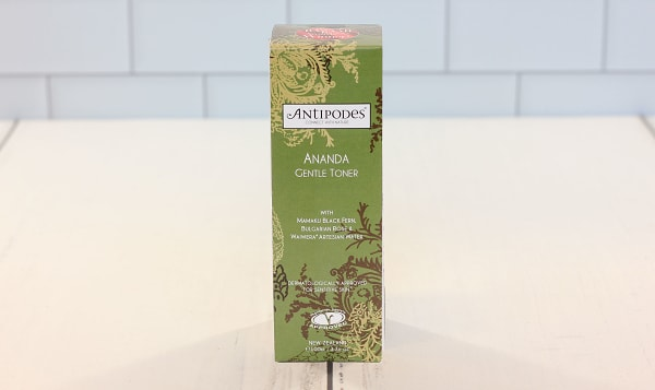 Organic Ananda Antioxidant-Rich Gentle Toner