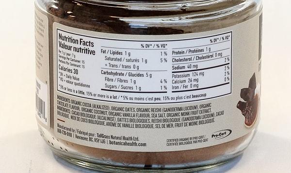 Organic Organic Reishi Hot Chocolate