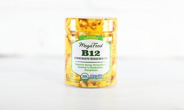 Organic Vitamin B12 Energy Ginger Gummies