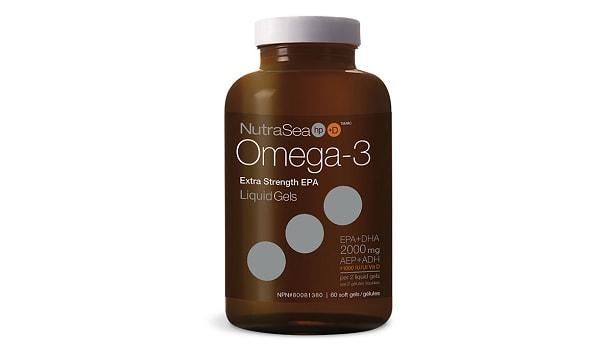 Omega-3 HP + D Liquid Gels, Extra Strength EPA - Fresh Mint