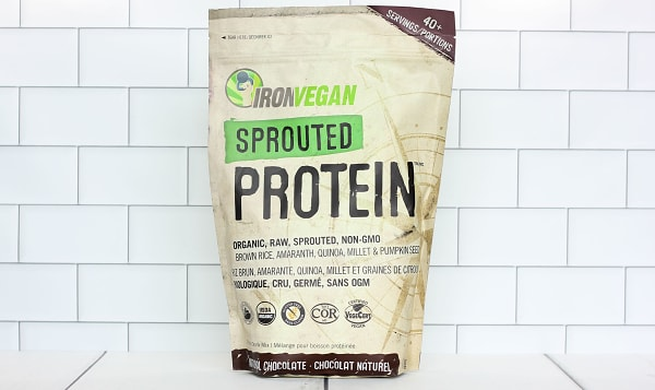 Organic Sprouted Protein - Chocolate