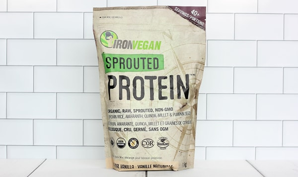 Organic Sprouted Protein - Vanilla