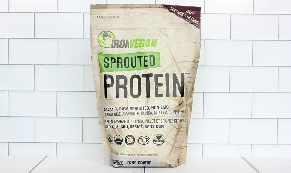 Organic Sprouted Protein - Unflavoured