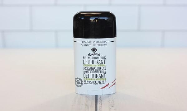 Neem Turmeric Deodorant - Lemongrass Charcoal