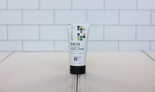 Organic Men's Comforting Face Lotion