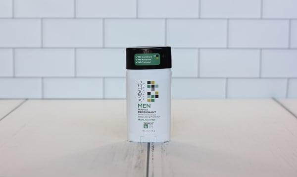 Organic Men's Deodorant - Highland Pine