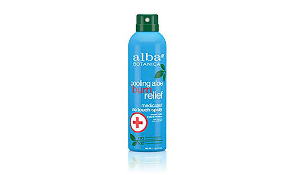 Cooling Aloe Burn Relief Medicated No Touch Spray