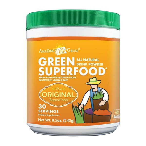 Organic Green Super Food Powder