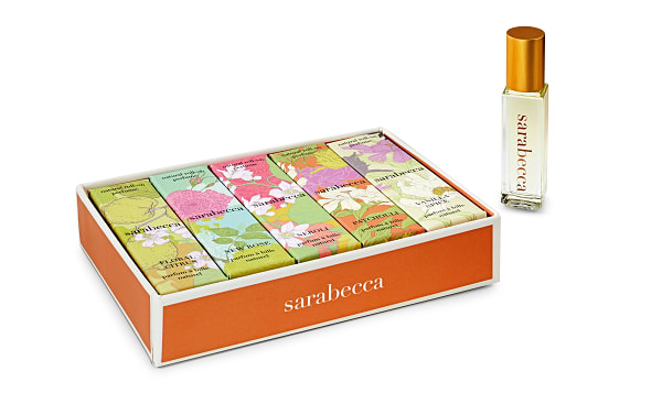 Organic Roll-On Perfume Gift Set