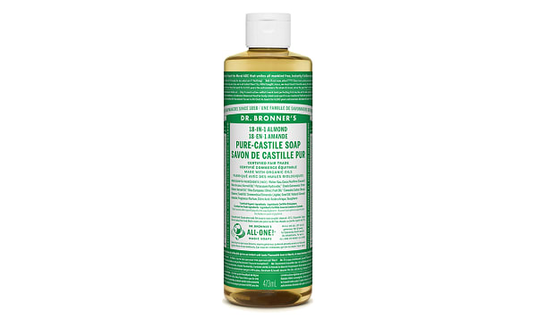 18-in-1 Hemp Pure-Castile Soap - Almond