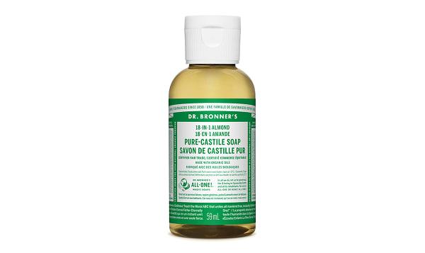 18-in-1 Hemp Pure-Castile Soap - Almond