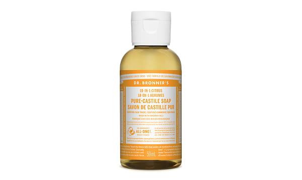 18-in-1 Hemp Pure-Castile Soap -  Citrus Orange