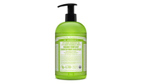 4-in-1 Organic Sugar Soap - Lemongrass Lime