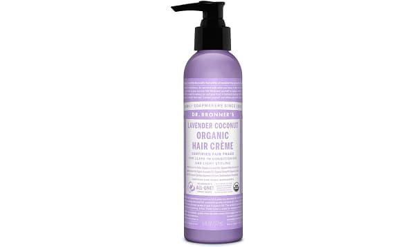 Lavender Coconut Organic Hair Crème