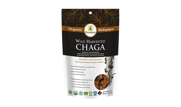 Organic Chaga - Whole Chunks