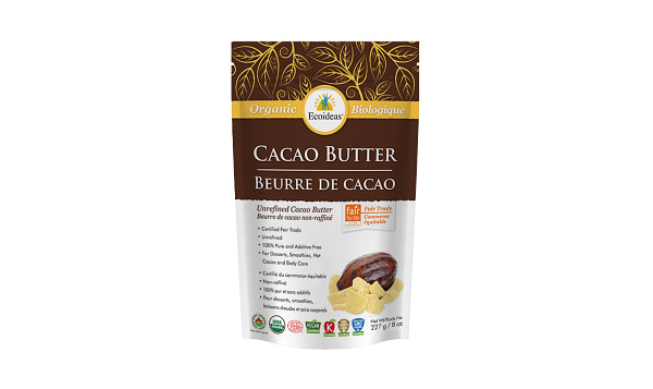 Organic Cacao Butter - Fair Trade