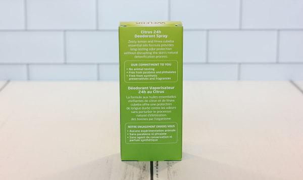 Organic Citrus Deodorant