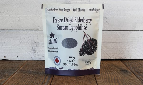 Organic Freeze Dried Elderberries