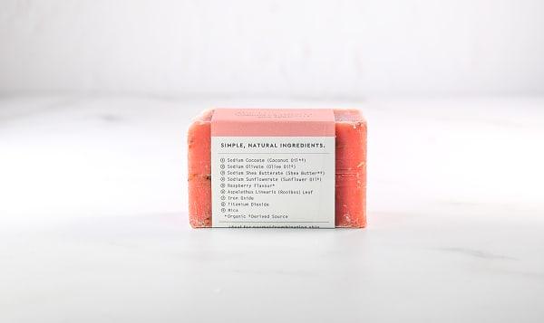 Raspberry Rooibos Bar Soap