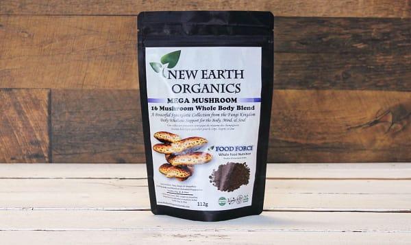 Organic Mega Mushroom Activation Extracted 16 Mushroom Blend