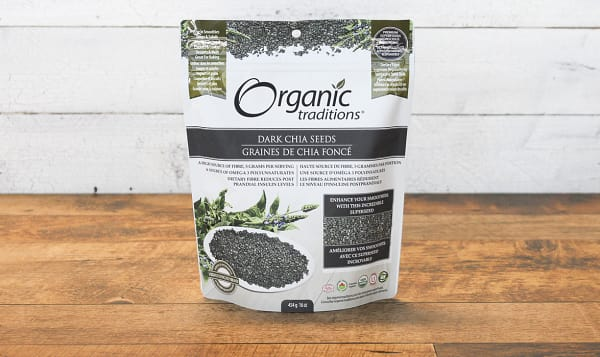Organic Dark Chia Seeds