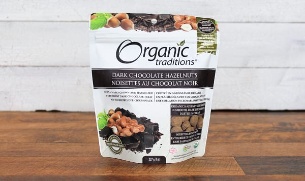 Organic Organic Dark Chocolate Covered Hazelnuts