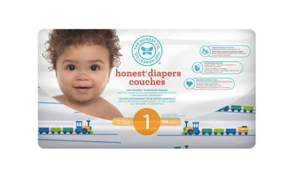 Diapers; Size 1; Trains