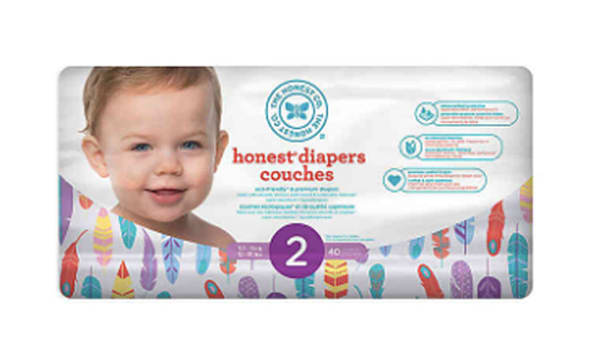 Diapers Size 2; Painted Feather
