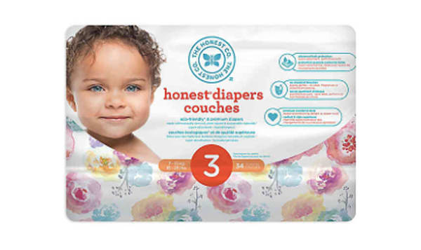Diapers Size 3; Rose Blossom