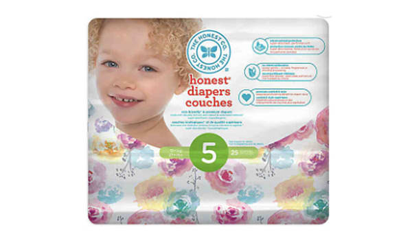 Diapers Size 5; Rose Blossom