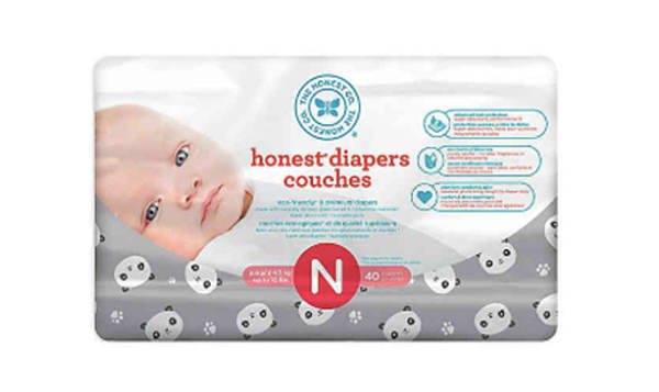 Diapers Size N; Pandas