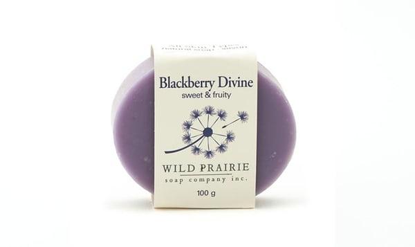 Blackberry Divine Natural Bar Soap