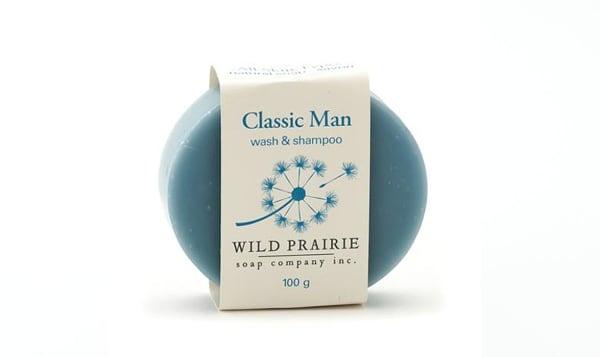 Classic Man Natural Bar Soap
