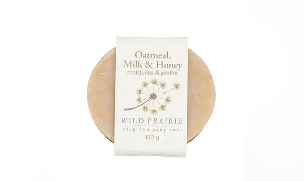 Oatmeal Milk & Honey Natural Bar Soap
