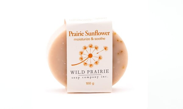 Prairie Sunflower Natural Bar Soap