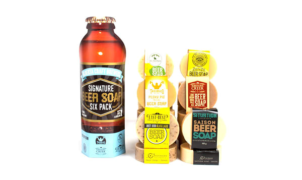 Signature Beer Soap Six Pack