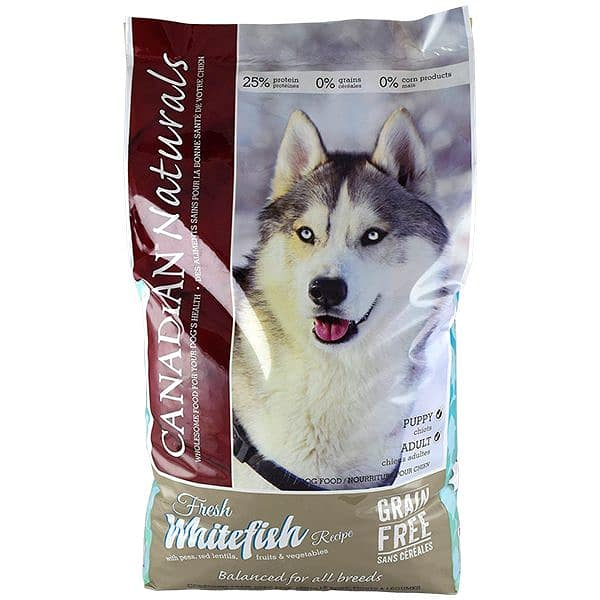 Grain Free Whitefish Dog Food