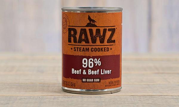 Beef & Beef Liver Dog Food